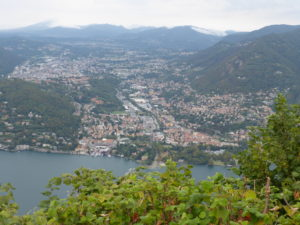 Views from the Lighthouse of Brunate
