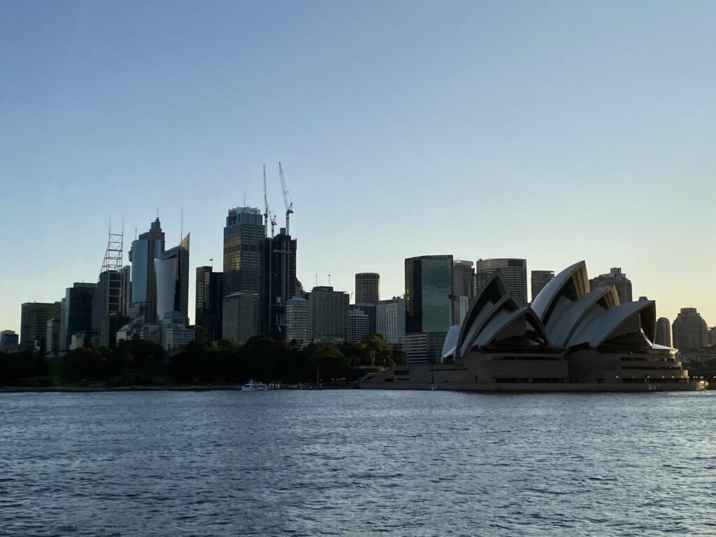 View of Sydney from the Harbour