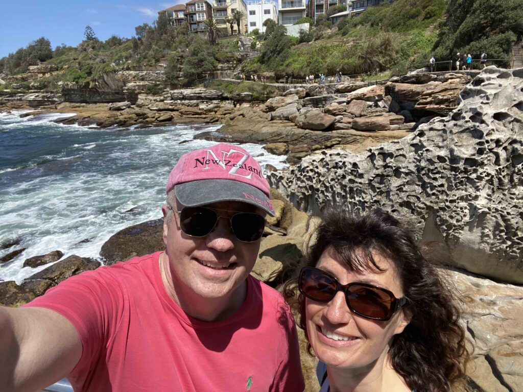 todd and oana in sydney