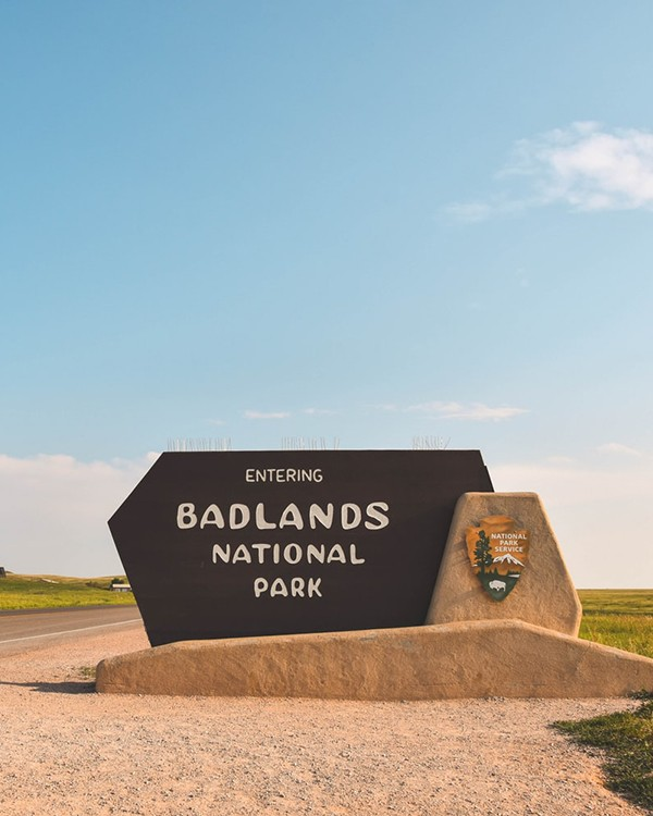 National Park Monument Sign