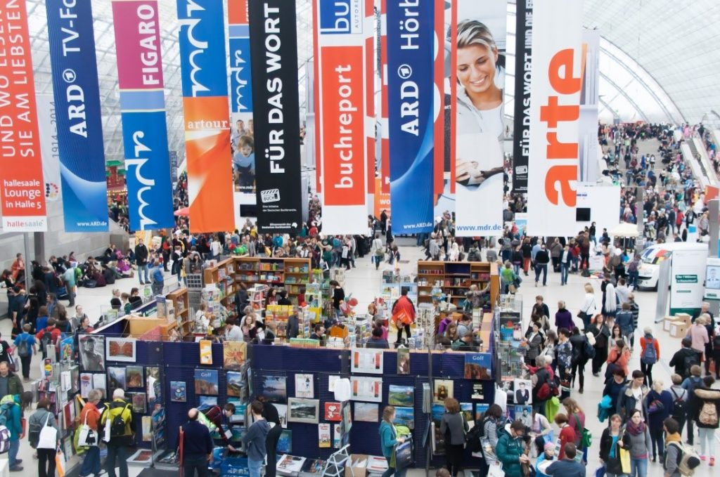 Advertising banners for trade show in Austin, TX