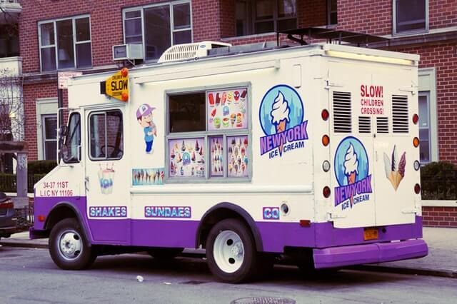 Commercial van wraps and decals