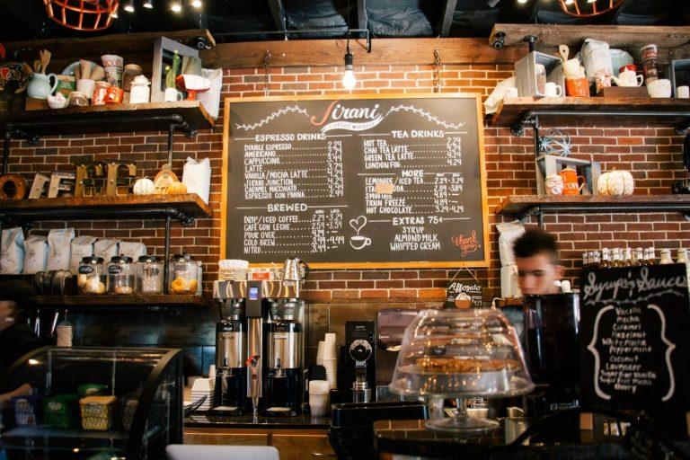 Restaurant Signs and Menus in Austin