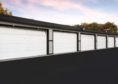 white parking Garages