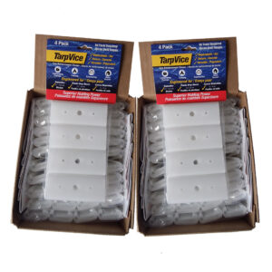 Double Box with 96 TarpVice clips and clamps
