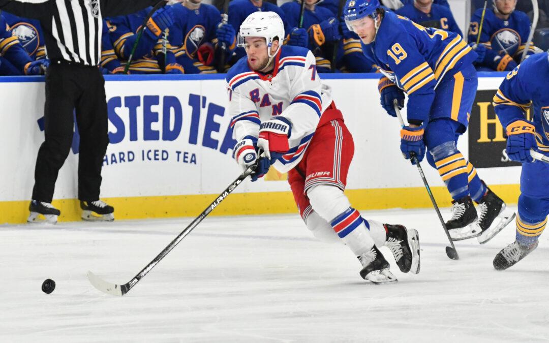 New York Rangers waived defenseman Tony DeAngelo