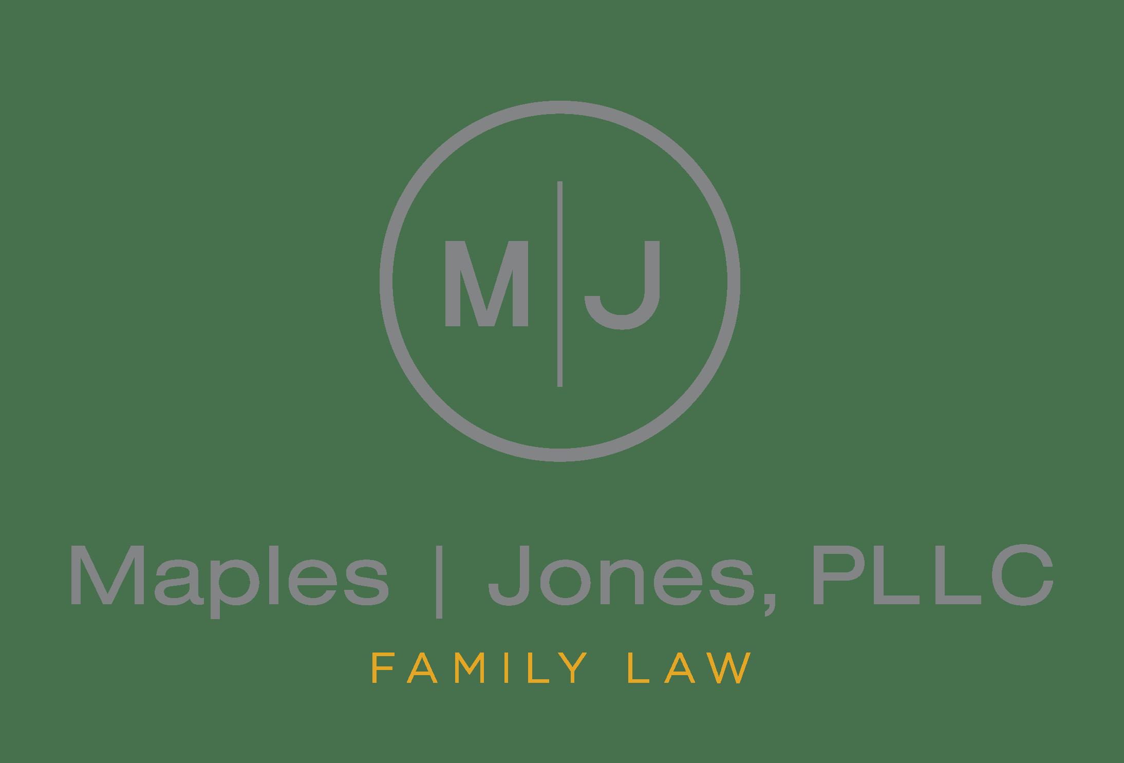 Maples | Jones, PLLC Family Law Logo