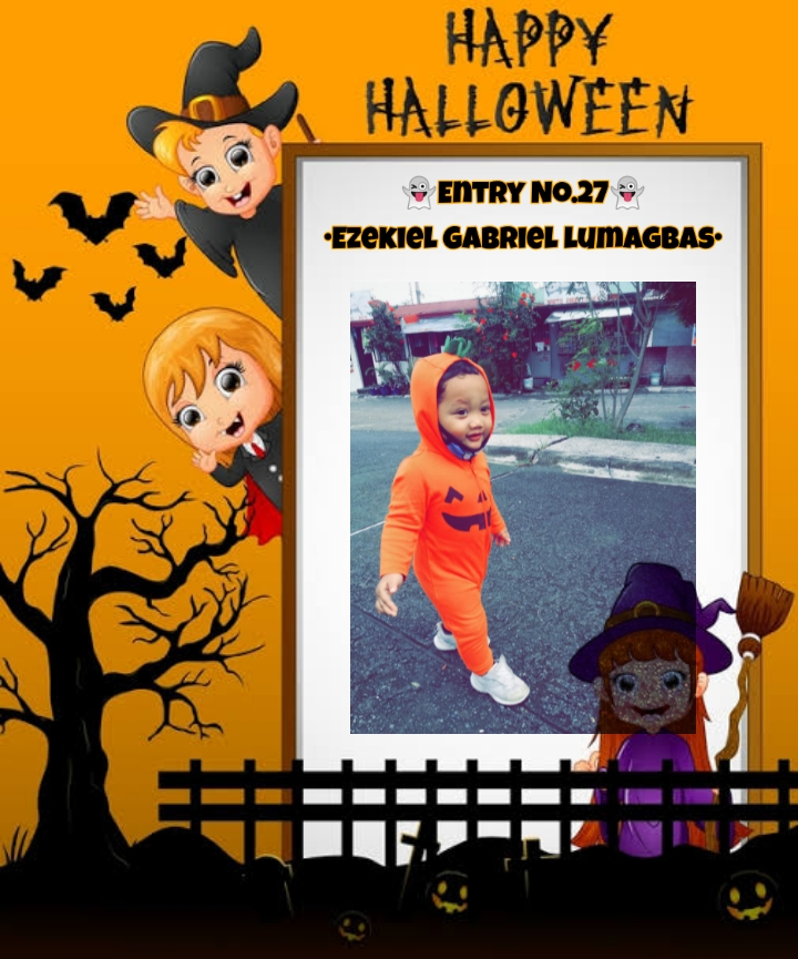 Bright Monsters – Halloween Costume Competition. Entry No.27