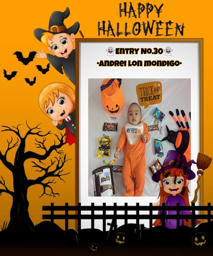 Bright Monsters – Halloween Costume Competition. Entry No.30