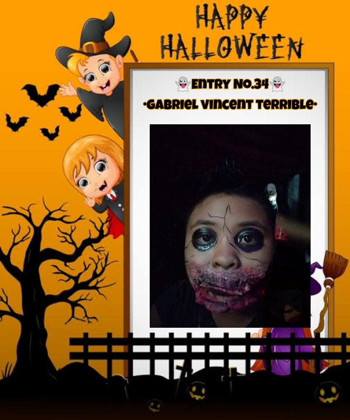 Bright Monsters – Halloween Costume Competition. Entry No.34