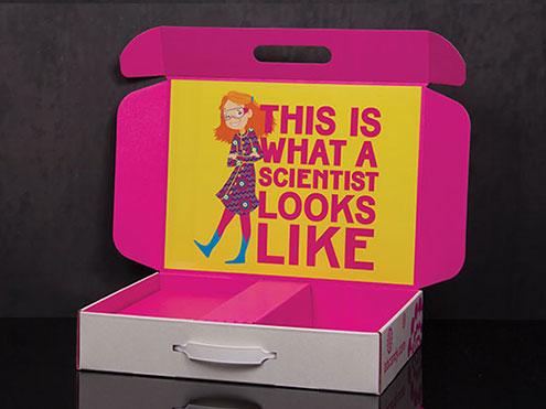 Custom e-commerce product box