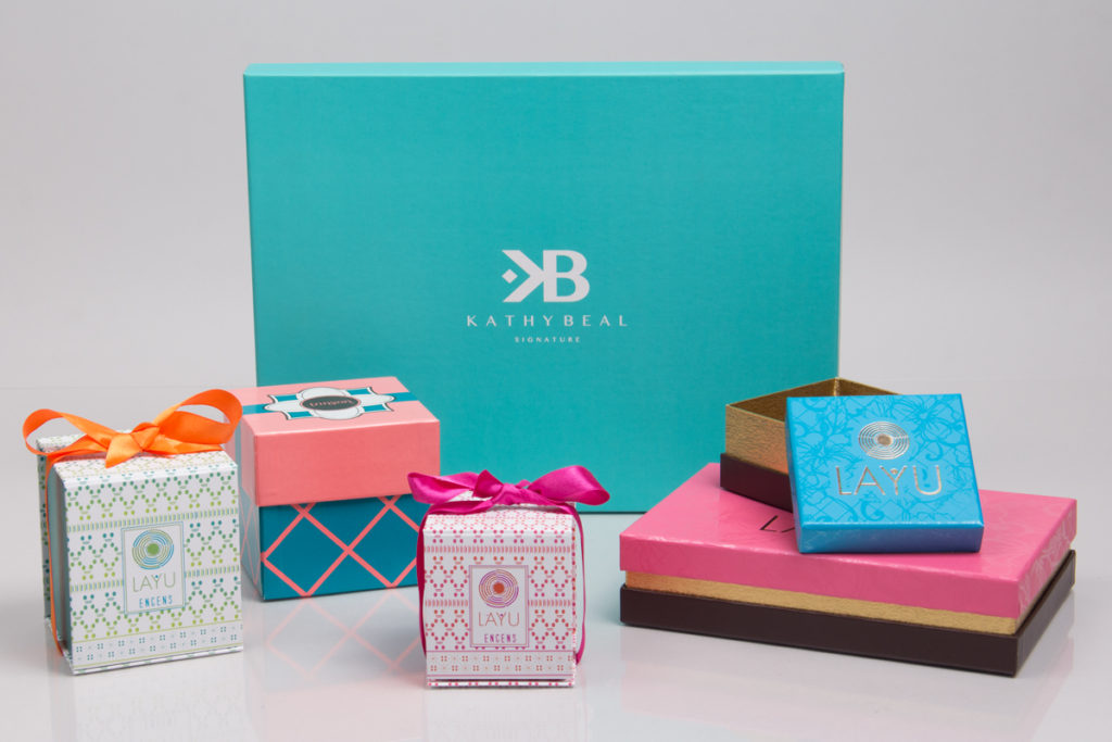 Colorful packaging design