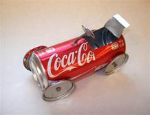 Turning an aluminum can into a fun racecar