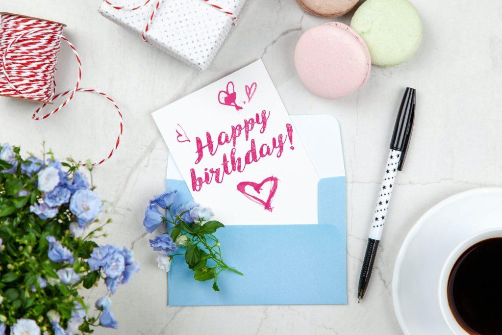 Happy birthday card for loyal customers