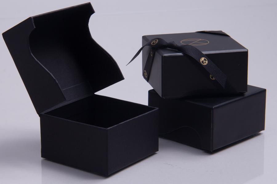 Custom designed branded gift boxes