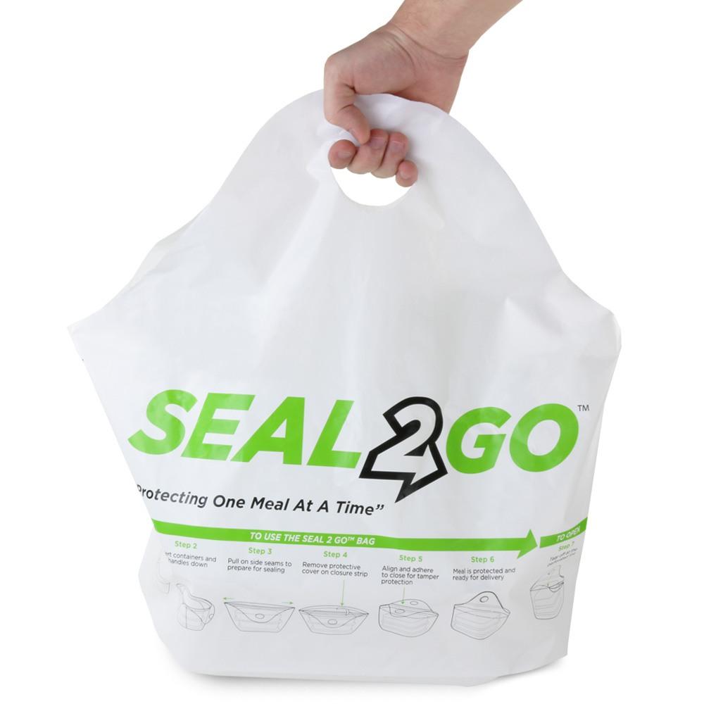 Seal 2 Go tamper evident plastic bag