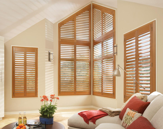 Raked Shutters with Invisitilt