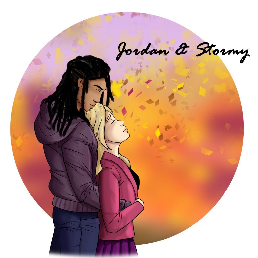 Jordan and Stormy