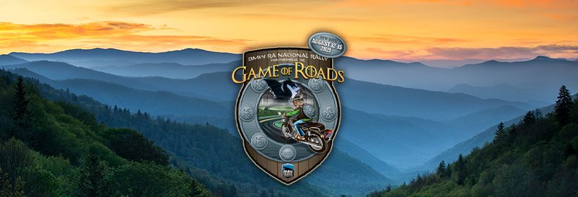 """BMW RA National Rally """"The Game of Roads"""" August 12-15, 2021"""