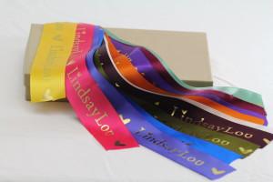 Custom Foil Hot Stamp Ribbon