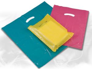 Super Gloss Low Density Plastic Bags