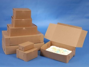 100% Recycled Natural Kraft Bakery Boxes