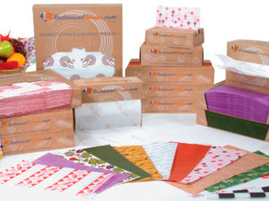 food safe tissue paper and tray liners