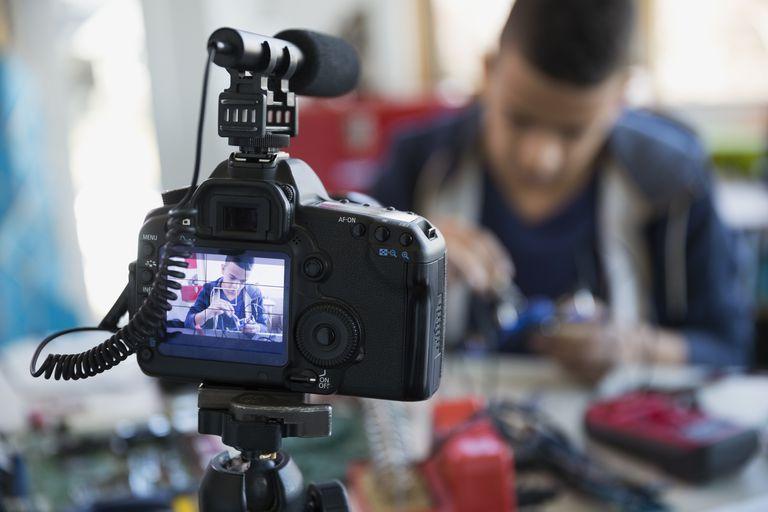 Shooting a video