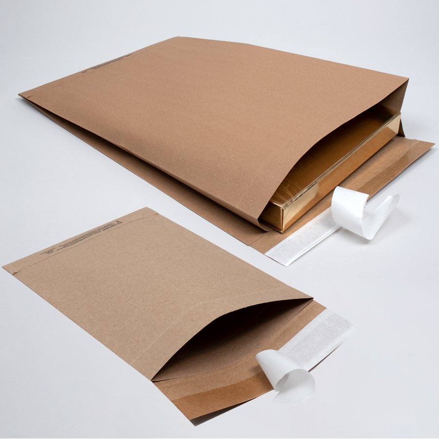 100% Recycled eco-natural shipping bags for e-commerce