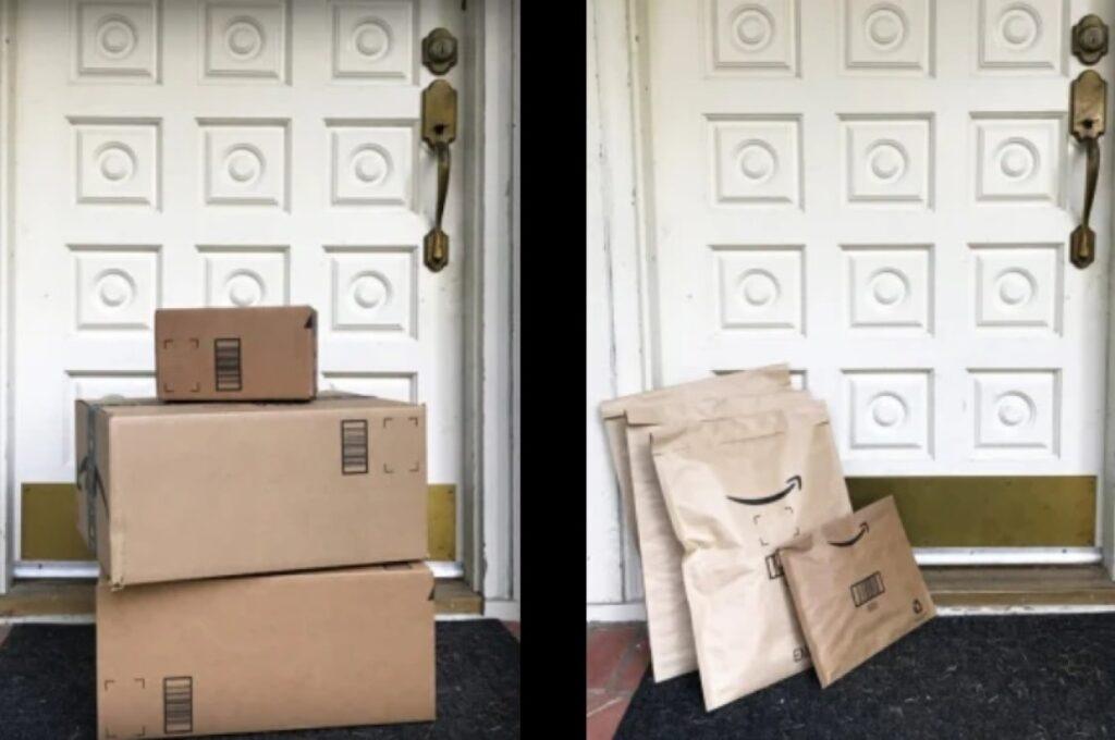 Amazon e-commerce packaging