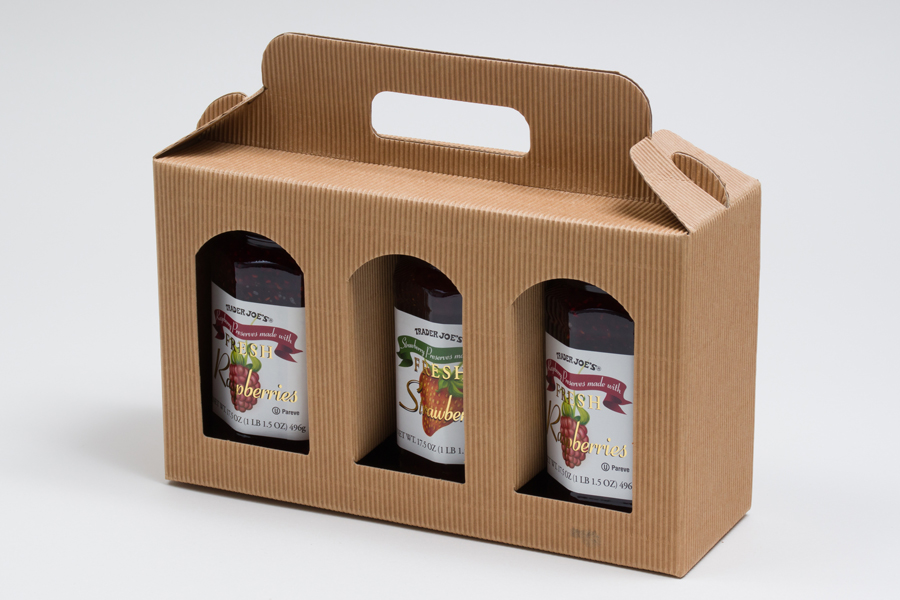 Gourmet Gift Carrier Boxes for Jars