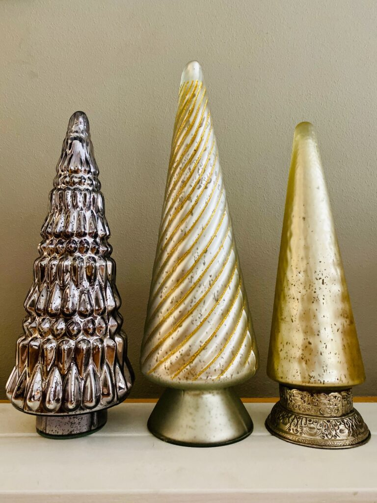 Glass Holiday Trees