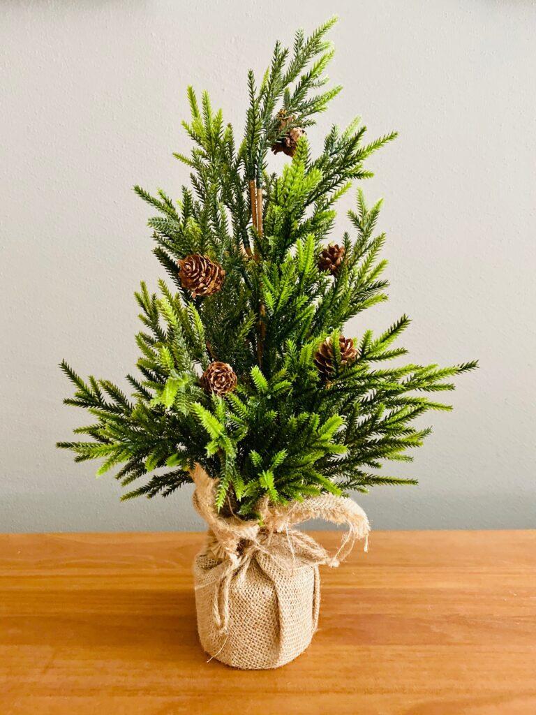 Tabletop Holiday Tree