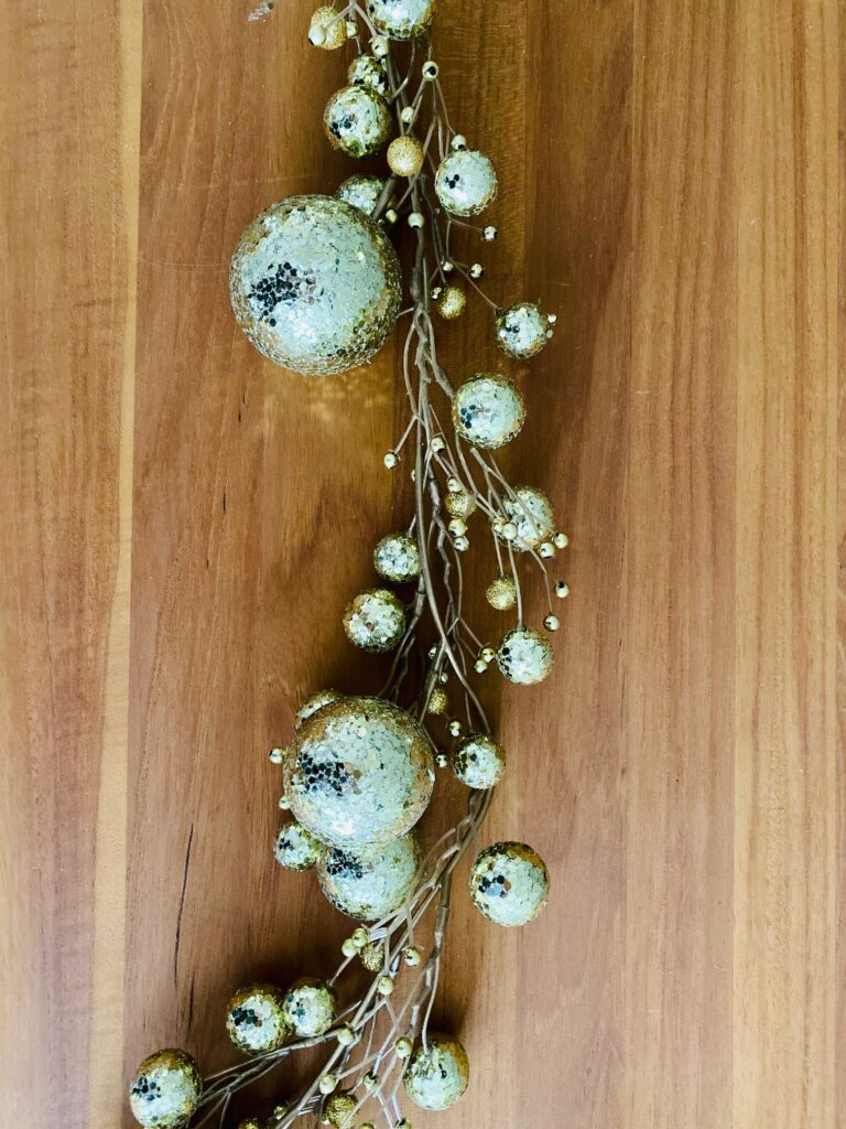 Gold Garland (Qty 2, each measures 6')