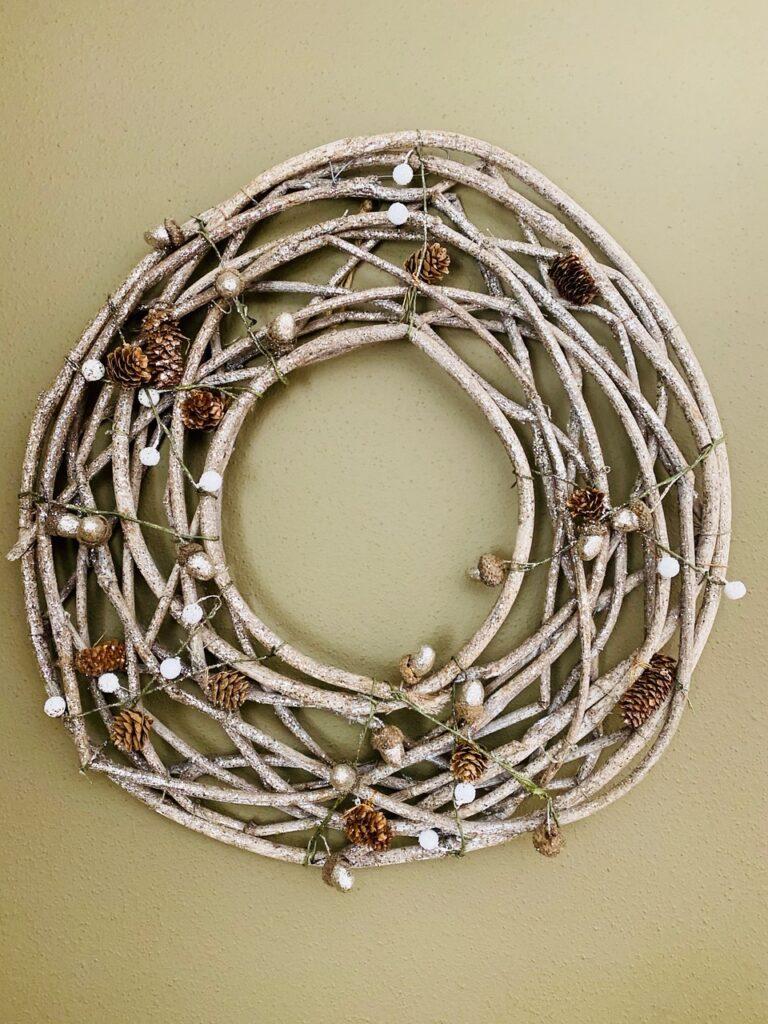 Winter Sparkle Wreath
