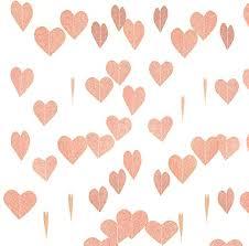 Sparkly Heart Garland