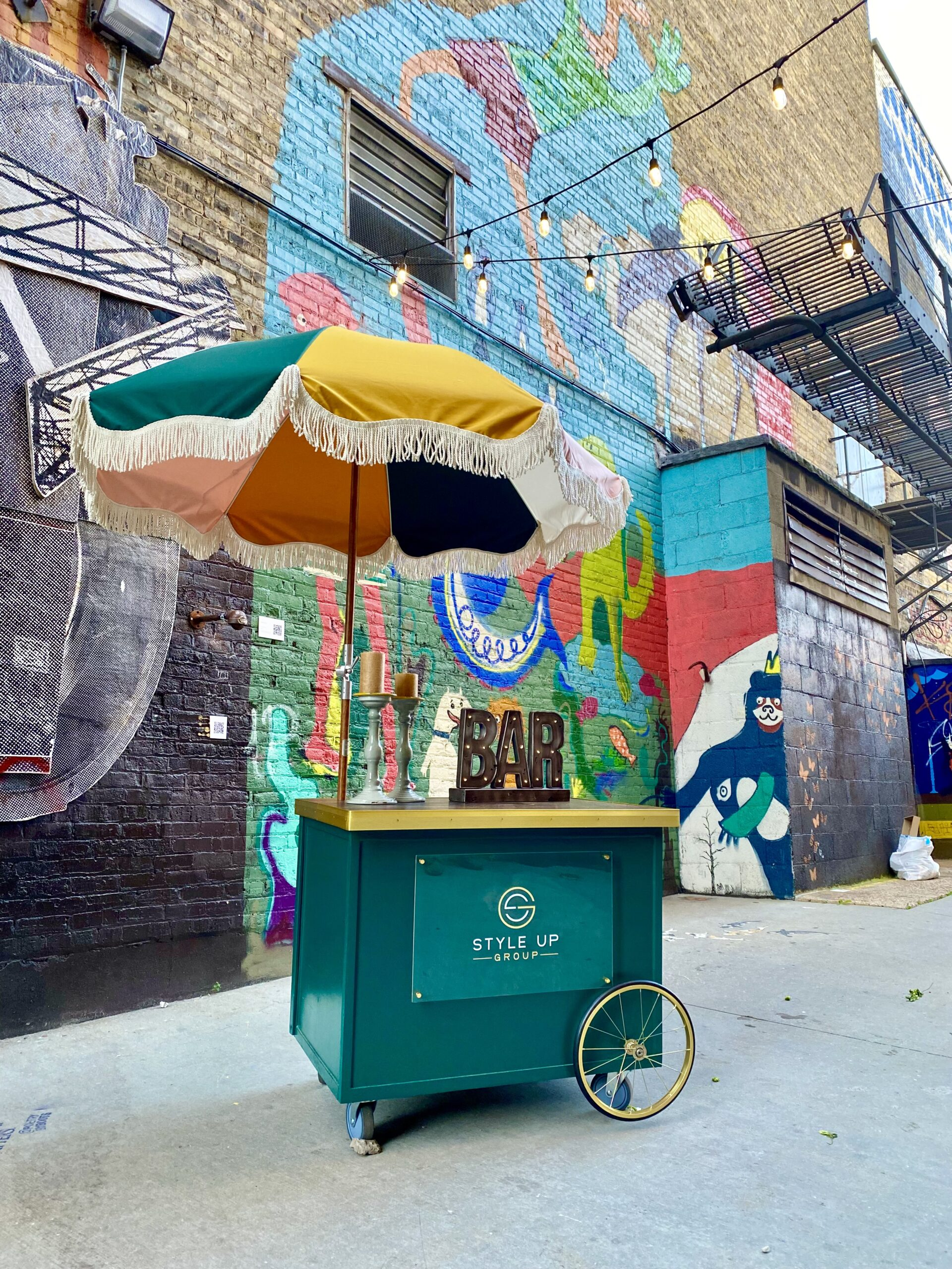 Coco the Bar Cart