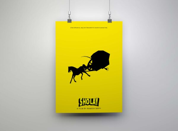 sholay poster sale