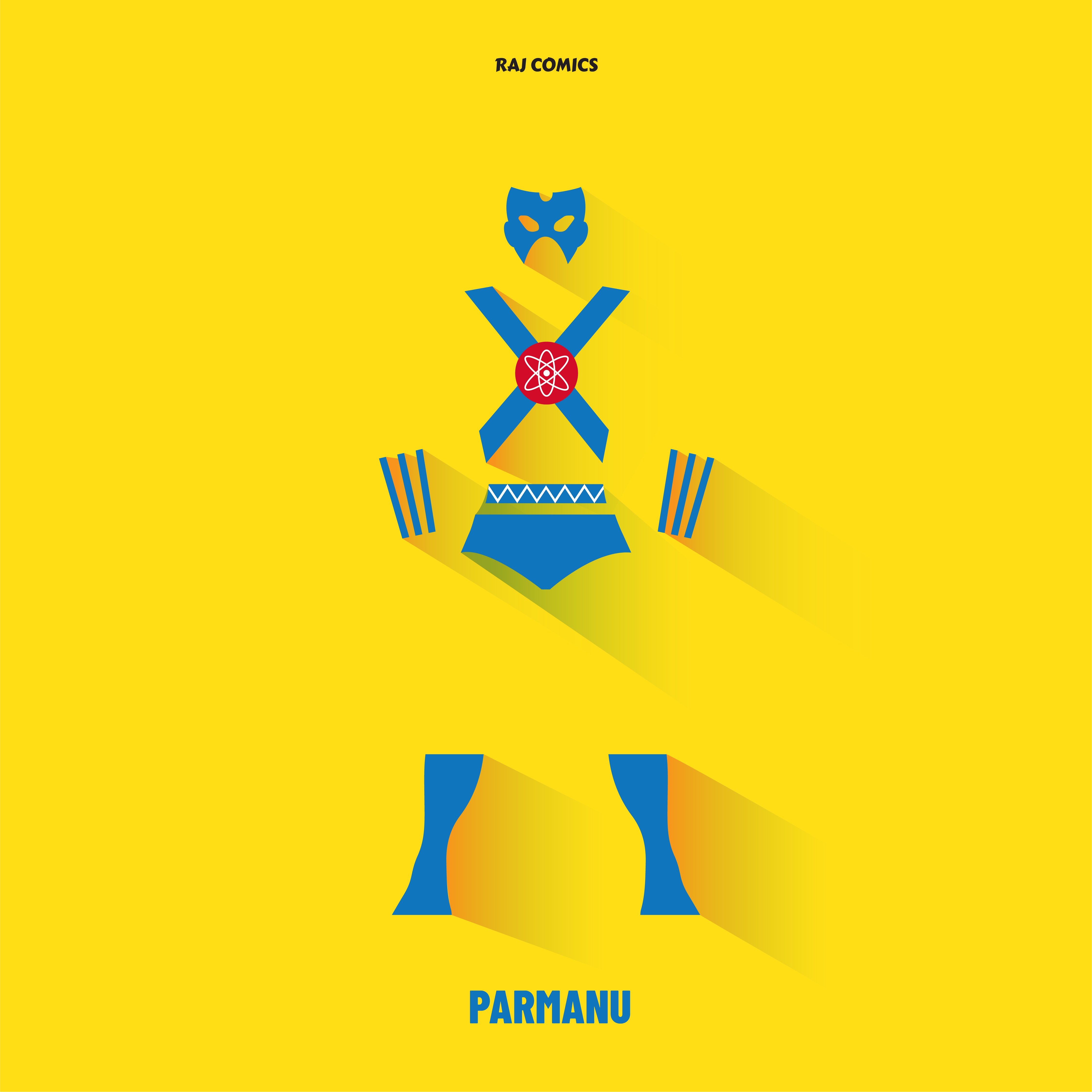 raj comics poster