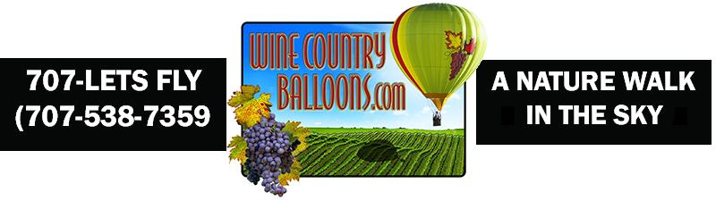 Wine Country Balloons Logo