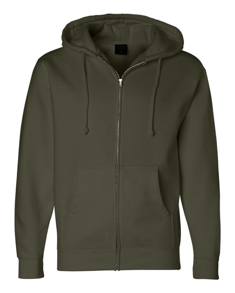 Independent Trading Co. - Heavyweight Full-Zip Hooded Sweatshirt - IND4000Z