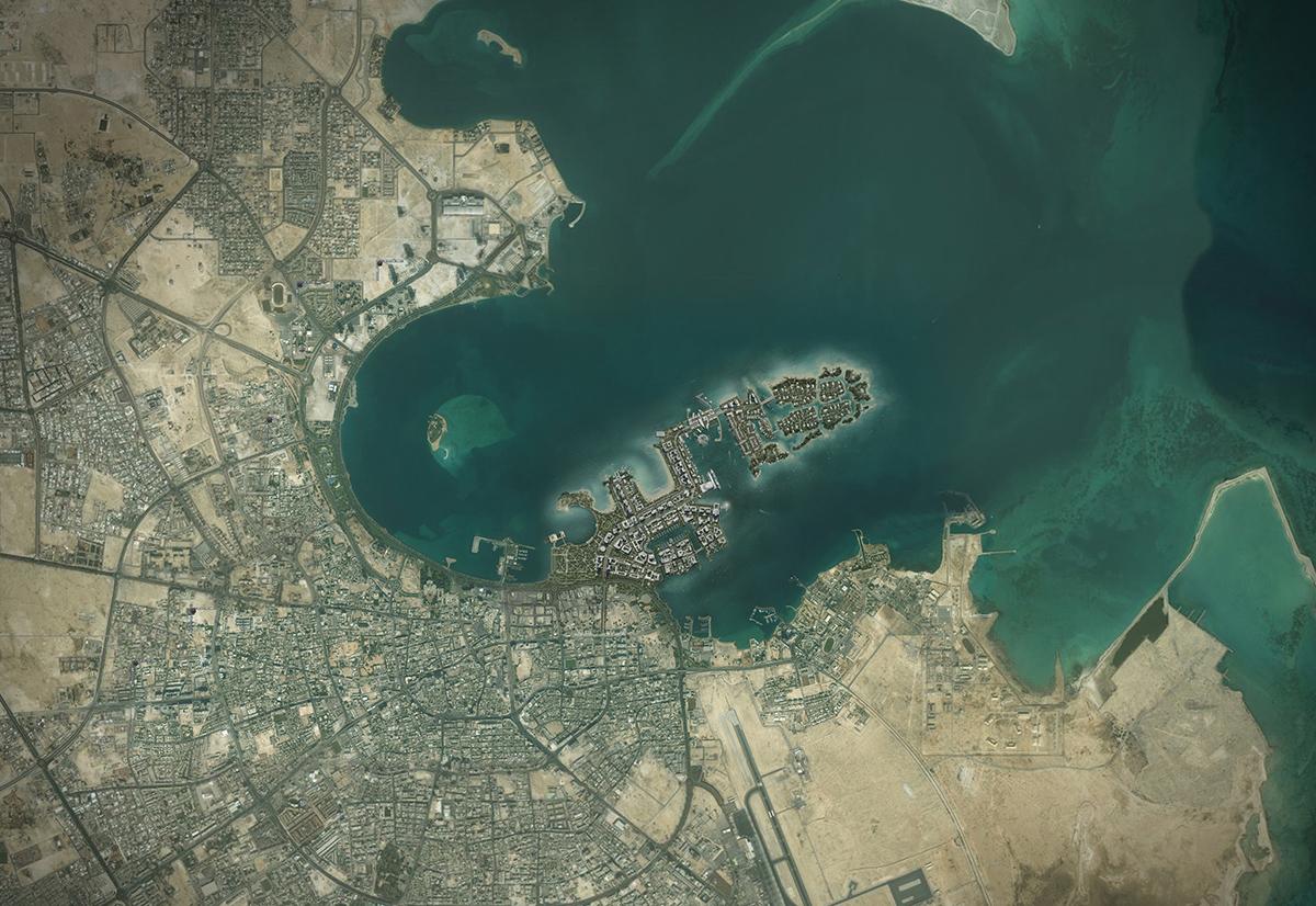 00-Doha Location Map