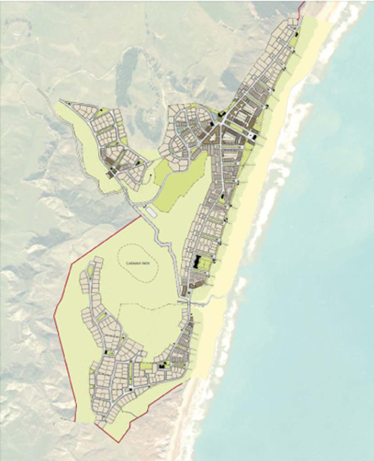 02-Ocean Beach Aerial plan