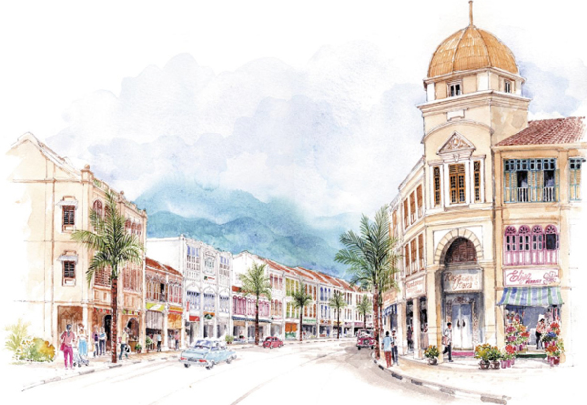 04-Putrajaya Street view