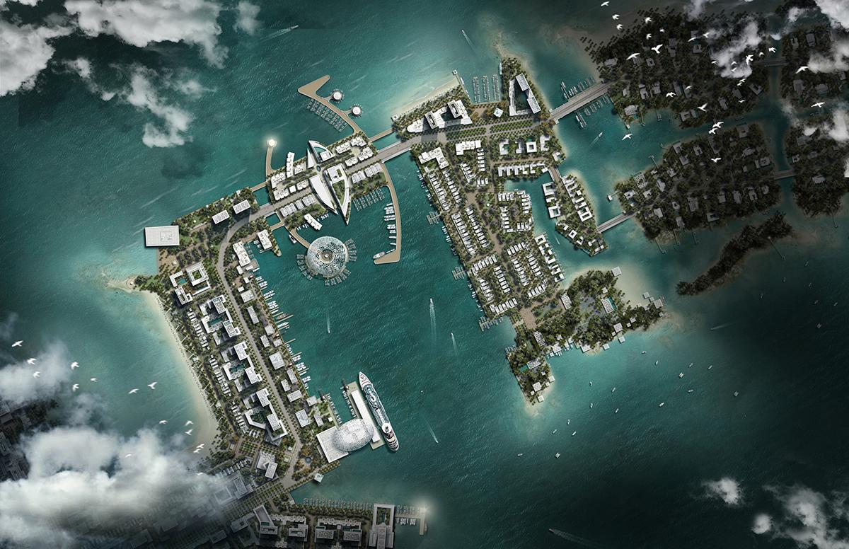 07-Doha MasterPlan_Marina