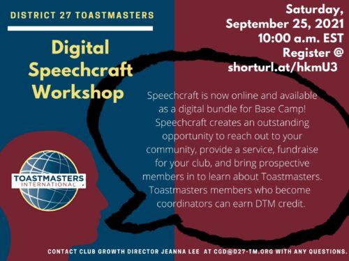 Digital Speechcraft Workshop