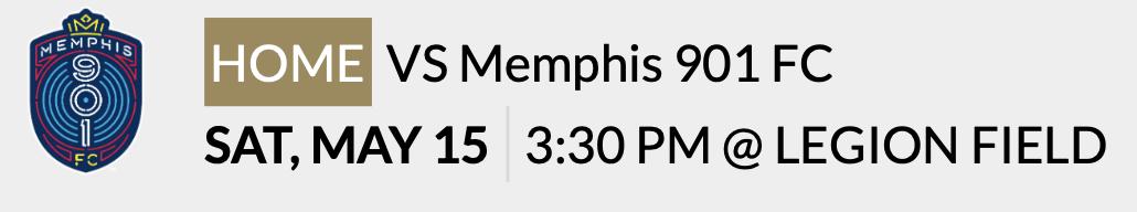 2021 Legion FC vs Memphis 901 FC Updated