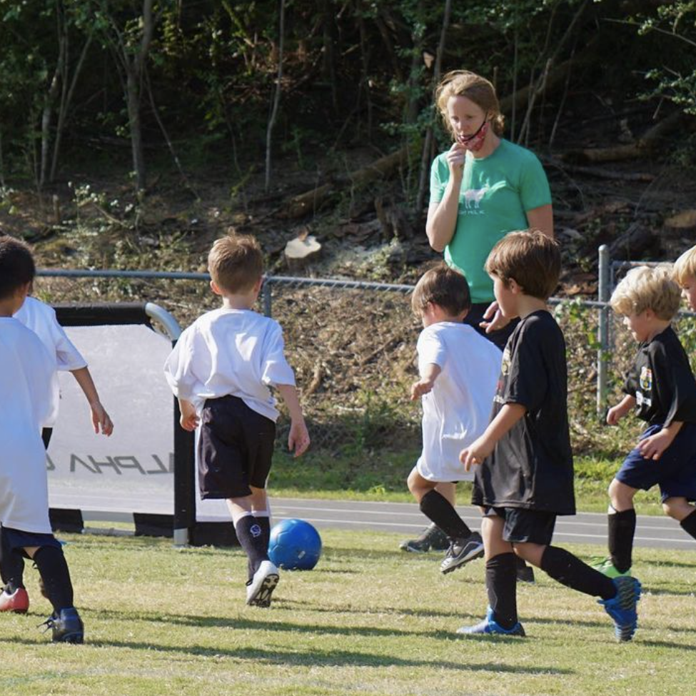 Rec Soccer 1 - Coach with Team
