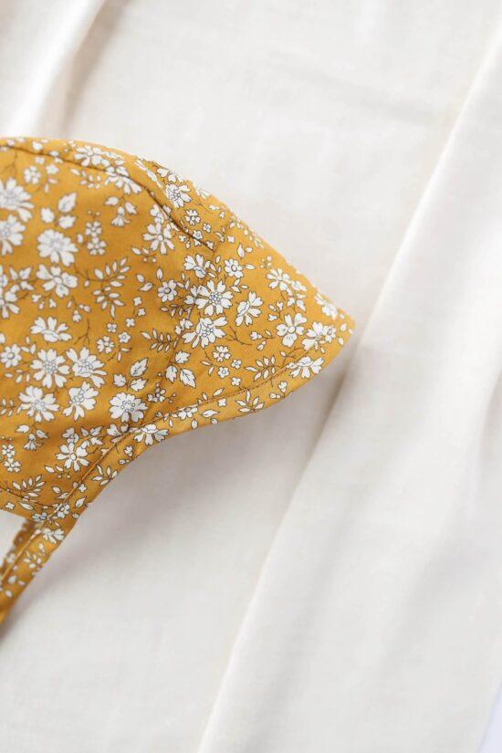Brimmed Buttercup Bonnet