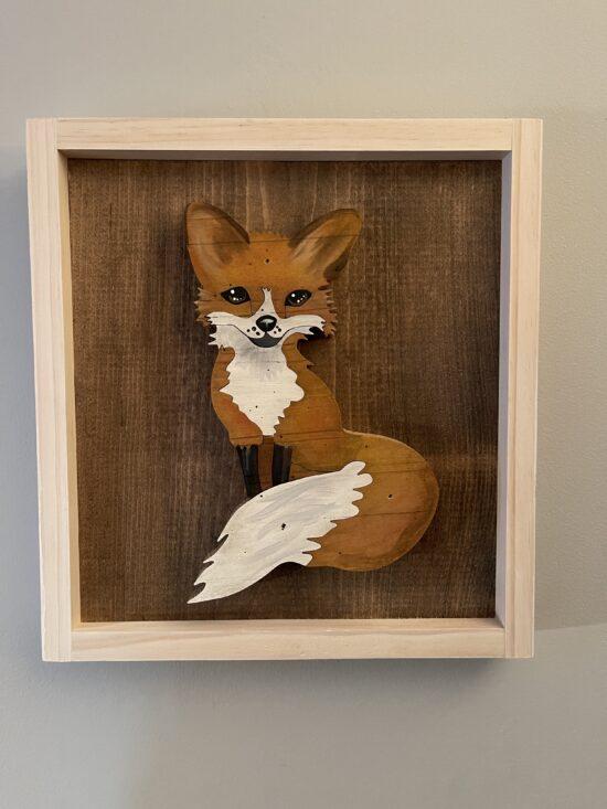 fox wall art and decor